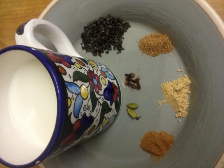 My version of Chai Latte